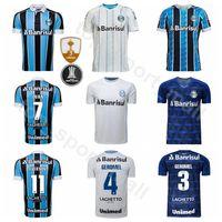 2020 2021 Futbol Gremio Jersey 8 Maicon 2 MOURA 3 Geromel 4 KANNEMANN 25 PEPE 21 PYERRE 1 VICTOR Brezilya Futbol Gömlek Setleri