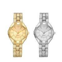 Casual Women Alloy Quartz Watch Fashion Personality Steel St...
