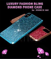 Premium Bling Luxury Designer Diamond strass Glitter cover posteriore per iPhone Xsmax xr xs 8 7 6s 7Plus Hybird Cases