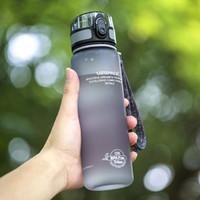 Взрыв Спорт бутылки с водой 1000 мл 1 л белка шейкер открытый путешествия портативный герметичный Тритан пластик мой напиток бутылка BPA бесплатно