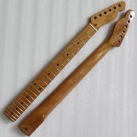 A nova seção F 22 TL Canadá cozido maple guitarra elétrica pescoço guitarra alça natural nitro pintura luz p6