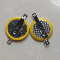 납땜 용접 핀 CR1616 PCB 게임 플레이어 용 탭이있는 리튬 코인 셀 배터리