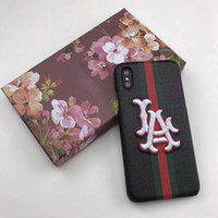 Luxury Phone Case Fashion 3D Embroidery for Iphone X XS XR X...