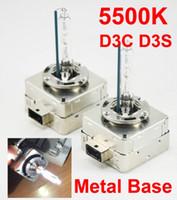 1 Çift 12 V 35 W D3S D3C 5500 K HID Xenon Far Ünitesi Yedek Ampul D5S Balast All-in-one Beyaz OEM 9285-409-171 Yükseltildi Orijinal 25 W