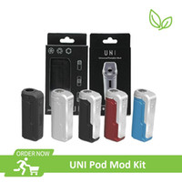 Original UNI Box Mod Kit 650mAh Battery Fit All Atomizers Portable E cigs Mod Kit 100% Original