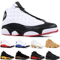 new concept 48f79 548a4 13 13s Hommes Chaussures de basketball Bred Flints Histoire du vol Altitude  XIII Chaussures de sport