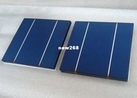 Freeshipping 100 قطع 4.2 واط 17.4٪ 156 ملليمتر بولي الخلايا الشمسية 6x6 + يكفي الكهروضوئية الشريط + 1 قطعة الجريان القلم لصنع الألواح الشمسية ديي ،