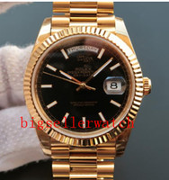 Relógios esporte masculino 228238 avançado movimento automático super luminoso estilo clássico discar 41 mm espelho de safira 18k relógio de ouro de ouro