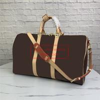먼지 가방 판매 LUXUS 디자이너 더플 가방 대용량 디자이너 여행 가방 하이 엔드는 하룻밤 가방