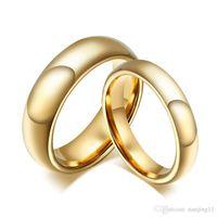جديد تنجستن كربيد الزفاف خواتم للزوجين لون الذهب للنساء الرجال خمر عاشق مجوهرات CTR-011