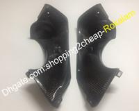 Motorrad-Auspuff-Carbon-Faser-Abdeckung für Yamaha YZF R6 YZF600 1998 1999 2000 2001 2002 YZF-R6 Auspuff Teil