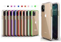 Per iPhone 11 2019 XS MAX XR X Bicolore radura TPU del telefono cellulare di caso di colore doppio ibrido Armatura copertina antiurto per Samsung Note 10 S10 Più
