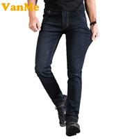 """2017 New Men """"s forma dos homens Calças Jeans Necessidade jeans clássico Calças Cowboy Estilo Verão para homem real"""