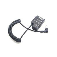 Camvate Panasonic DMW-BLF19 Dummy batterij naar 2.1mm DC-kabel Code: C2368