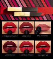 Famoso marchio Y5L The Slim ROUGE in pelle opaco rossetto Colori Numero N1 N9 N12 N18 N21 N23 N5