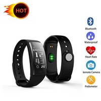 QS90 Smart Bracelet Blood Pressure Heart Rate Monitor Fitnes...