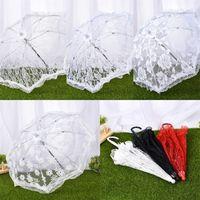Manuel Dantel Düğün Kutlama Şemsiye Çelik Resim Stüdyosu Prop Moda Şemsiye Çeşitli Stilleri Ile Yeni Gelenler 11 99wt J1