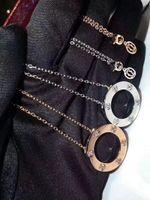 Full CZ Titanium Steel Love Ожерелья Подвески Choker Ожерелье Женщины Мужчины Любовь Сущевика Секретарный Подарок Ювелирных Изделий с бархатной сумкой