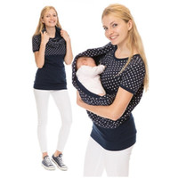 199a98afa14 New Arrival. Maternity Clothes Women Nursing Top Printed Short-sleeved ...