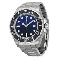 Лучшие продавца мужские часы черный ремешок мужские морские жир керамические рамки без тумбочка стали 116660 автоматическое движение деловые