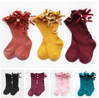 Baby Socks Knee High Toddler Trousers Cotton Knee Tube Baby ...