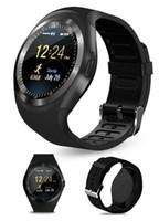 Y1 умные часы для Android SmartWatch сотовый телефон Samsung часы Bluetooth для Apple Iphone с розничной упаковке