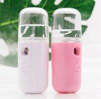 30ML البسيطة نانو البخاخ الوجه USB رذاذة الوجه الباخرة مرطب مرطب لمكافحة الشيخوخة التجاعيد المرأة جمال البشرة أدوات العناية