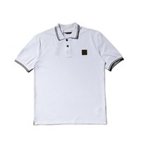 Mens Designer Polo Shirts with Letters Fashion Stone Brand P...