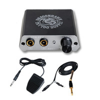 Tatuaggio digitale alimentazione mini scatola elettrica con interruttore a pedale CLIP P085 + WE002 + WY002