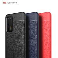 Ударопрочный чехол для телефона Huawei P40 Pro Lite P30 P20 Nova 5T Huawei Mate 30Pro 30 Lite 20Pro 20 P Smart Y6 Y7 2019 личи ТПУ чехол