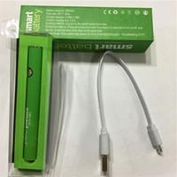 Akıllı Arabalar Vape Pil 510 Konu Piller 380mah Önceden Preheat E Sigaralar Vapes Kalem Buharlaştırıcı Kalemler KTS Ayarlanabilir Gerilim ECIG USB Kablosu