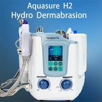 Aquasure H2 3 in 1 수경 미세 박피술 수액 딥 세정 BIO 미세 조류 수력 박리 얼굴 피부 관리기