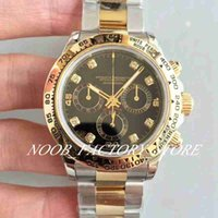 Luxury JH Factory 116508 Mens Chronograph Automatic Cal.4130 Watch Gold Bracelet Watches Sport Swiss Cosmograph Chrono Luminous Wristwatches