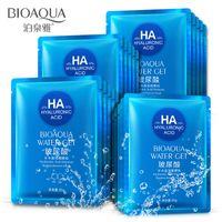 Hot 10 pcs Máscara BIOAQUA Profundo Hidratante Rosto Anti Aging Profundidade Reposição Pele Facial Cuidados Set