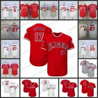 32a79ab38 Custom Angels Jerseys 17 Shohei Ohtani 5 Albert Pujols 27 Mike Trout 2  Andrelton Simmons Personalized Los Angeles Home Away Stitched Jersey