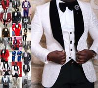 새로운 디자인 사용자 정의 웨딩 남성 재킷 정장 신랑 정장 최고의 남성 슬림 맞춤 신랑 턱시도 파티 파티