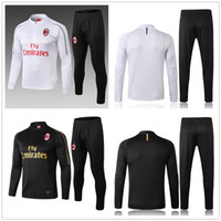 NEW soccer tracksuits 18- 19 AC Milan soccer jacket Training ...