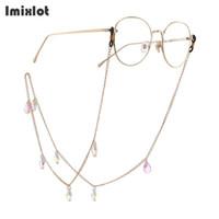 Mode Water Drop Hanger Bril Ketting Crystal Oogglazen Zonnebril Leesbril Koord Houder Halsband Touw voor Eyewear