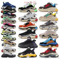 Luxury triple s old dad shoes tripler sneakers clear sole ch...