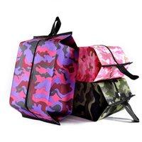 화장품 가방 LXL656-L 홈 잡화 가방 마무리의 휴대용 신발 가방 위장 접는 방수 여행 세척 가방 가구 먼지