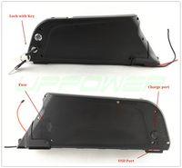 Batteria bici elettrica Dolphin 48V 10Ah batteria al litio 48V 500W 750W Bicicletta Ebike con USB e BMS