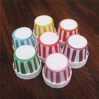 48PCS 컵 케이크 라이너 베이킹 컵 컵케익 종이 머핀 케이스 케이크 상자 컵 계란 타트 트레이 케이크 금형 장식 도구