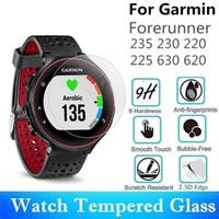 10PCS Vetro temperato per Garmin Forerunner 235 230 220 225 630 620 Round Smart Watch Pellicola proteggi schermo protettivo