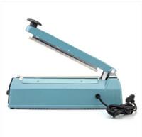 Freier Verschiffen Großverkauf FS-200 300W bewegliche manuelle Dichtungs-Maschine (US-Standard) Blaue Haushaltsvakuumdichtungsmaschine