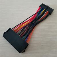 ATX PSU Standard 24Pin Femelle vers Mini 24P Mâle Adaptateur Interne Interne Câble de Rechange Pour DELL 780 980 760 960 PC