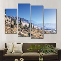 fantôme recon wildlands canvas 4 set figure picture print painting pour salon décoration murale