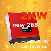 Freeshipping GW2000-NS ızgara invertör Üzerinde 2kw 230 v 50/60 HZ, Izgara ev için güneş enerjisi sistemi için teid power inverter proje ızgara