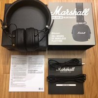 Marshall Major III Bluetooth Drahtloser On-Ear-Kopfhörer 1: 1 Deep Bass DJ Hifi-Headset mit Mikrofon Sport-Kopfhörer Studio-Headsets