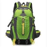40L водонепроницаемый прочный открытый кемпинг альпинизм рюкзак женщины мужчины пешие прогулки спортивный спорт путешествия рюкзак высокое качество рюкзак