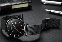 2020 CRRJU 새로운 도착 silm 남성 스포츠 시계 비즈니스 방수 간단한 선물 손목 시계 남성 Relogio Masculino 남자 블랙 시계